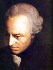 Portrait of Immanuel Kant (click to view image source)