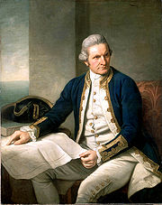Portrait of James Cook (click to view image source)
