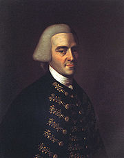 Portrait of John Hancock (click to view image source)