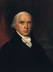 Portrait of James Madison (click to view image source)