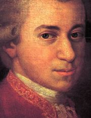 Portrait of Mozart (click to view image source)