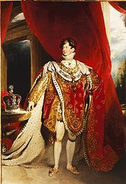 Portrait of King of the United Kingdom George IV (click to view image source)