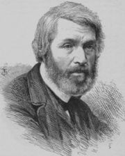 Portrait of Thomas Carlyle (click to view image source)