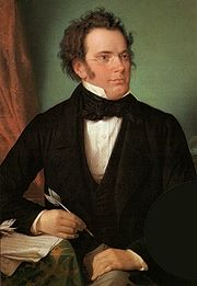 Portrait of Franz Schubert (click to view image source)