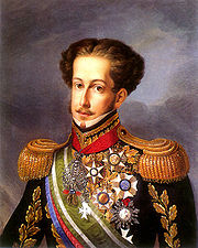 Portrait of Emperor of Brazil Pedro I (click to view image source)