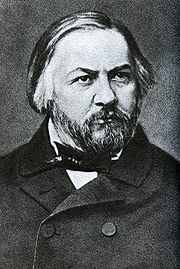 Portrait of Mikhail Glinka (click to view image source)