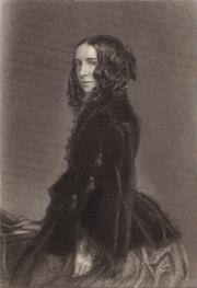 Portrait of Elizabeth Barrett Browning (click to view image source)