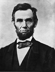 Portrait of Abraham Lincoln (click to view image source)