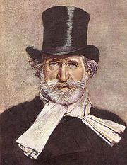Portrait of Guiseppe Verdi (click to view image source)