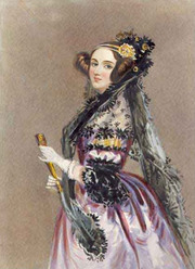 Portrait of Ada Lovelace (click to view image source)