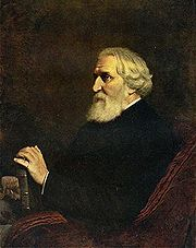 Portrait of Ivan Turgenev (click to view image source)