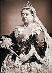 Portrait of Queen of England Victoria (click to view image source)