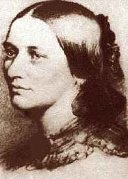 Portrait of Clara Schumann (click to view image source)