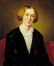 Portrait of George Eliot (click to view image source)