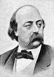 Portrait of Gustave Flaubert (click to view image source)