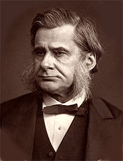 Portrait of Thomas Huxley (click to view image source)
