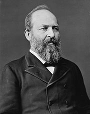 Portrait of James Garfield (click to view image source)