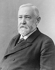 Portrait of Benjamin Harrison (click to view image source)