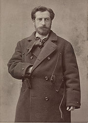 Portrait of Frederic-Auguste Bartholdi (click to view image source)
