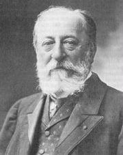 Portrait of Camille Saint-Saens (click to view image source)