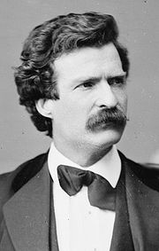 Portrait of Mark Twain (click to view image source)