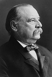 Portrait of Grover Cleveland (click to view image source)