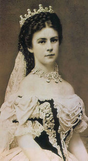 Portrait of Empress of Austria Elizabeth (click to view image source)