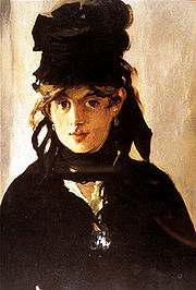 Portrait of Berthe Morisot (click to view image source)