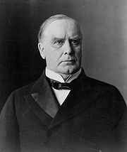 Portrait of William McKinley (click to view image source)