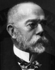Portrait of Robert Koch (click to view image source)