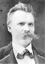 Portrait of Friedrich Nietzsche (click to view image source)