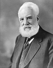 Portrait of Alexander Graham Bell (click to view image source)