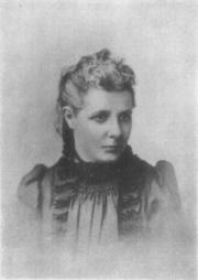 Portrait of Annie Besant  (click to view image source)