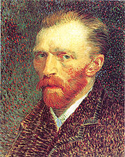 Portrait of Vincent Van Gogh (click to view image source)
