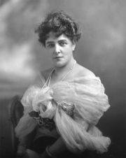 Portrait of Lady Randolph Churchill (click to view image source)
