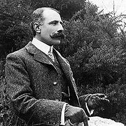 Portrait of Edward Elgar (click to view image source)