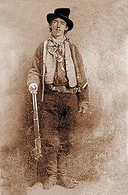 Portrait of Billy the Kid (click to view image source)