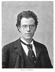 Portrait of Gustav Mahler (click to view image source)