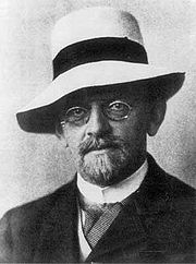 Portrait of David Hilbert (click to view image source)