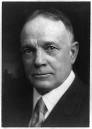 Portrait of Billy Sunday (click to view image source)