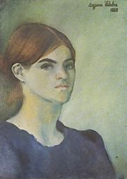 Portrait of Suzanne Valadon (click to view image source)