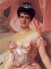 Portrait of Queen of Portugal Amelia (click to view image source)