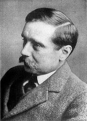 Portrait of H.G. Wells (click to view image source)