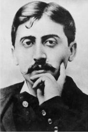 Portrait of Marcel Proust (click to view image source)