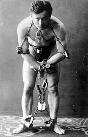 Portrait of Harry Houdini (click to view image source)