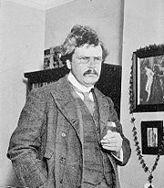 Portrait of G.K. Chesterton (click to view image source)