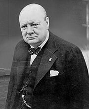 Portrait of Winston Churchill (click to view image source)