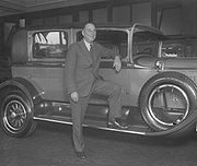 Portrait of Walter P. Chrysler (click to view image source)
