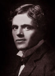 Portrait of Jack London (click to view image source)