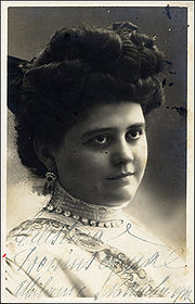 Portrait of Celestina Boninsegna (click to view image source)